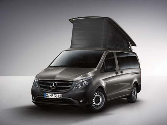 Застосунок Mercedes-Benz Guides Marco Polo ACTIVITY